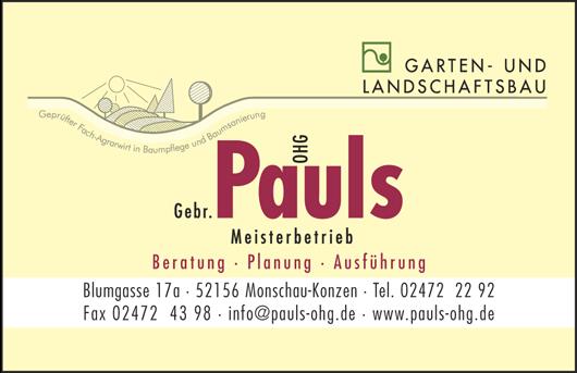 Pauls-ohg.de - Garten- und Landschaftsbau - Moderne Foristik